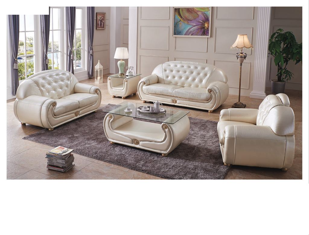 Giselle Leather Living Room Collection