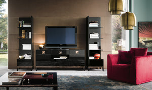 Mont Noir Black Media Stand by Alf Italia