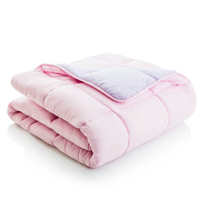 Reversible Bed in a Bag in Lilac & Blush