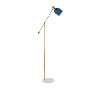 Marc Floor Lamp with Glass Shade