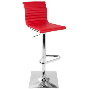 Marshall Leatherette Barstool in Red, Grey, Black or White