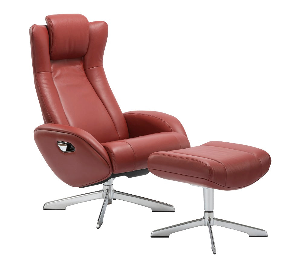 Mia Lounge Chair and Ottoman in 6 Color Options