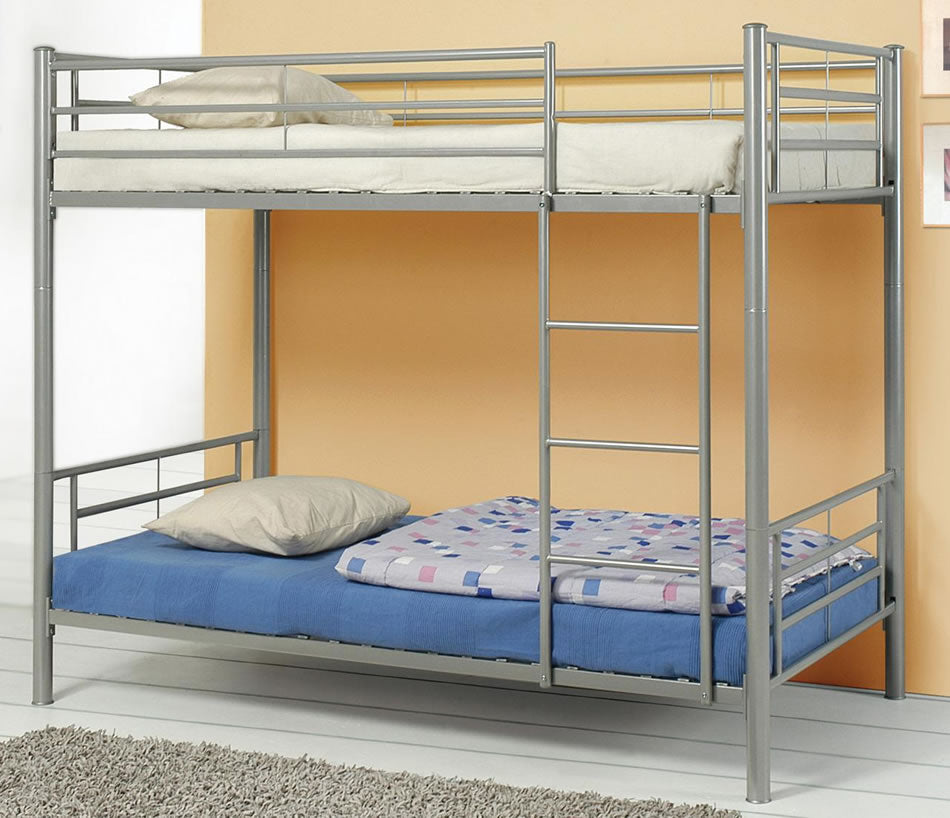 Windy City Metal Bunk Bed