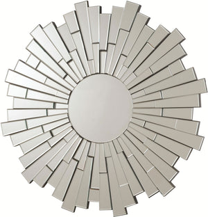 Burst Modern Round Wall Accent Mirror