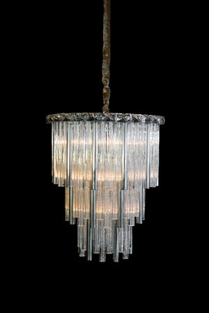 Chimes Silver Chandelier in 3 Sizes