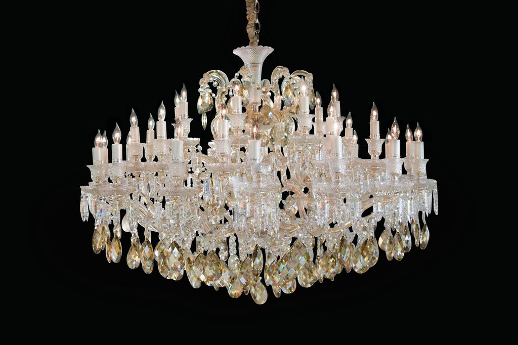 Chambord Glass Chandelier in 3 Sizes