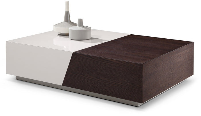 Alice Dual Tone Storage Coffee Table
