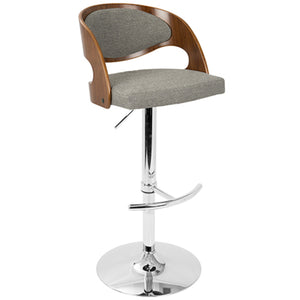 Pina Adjustable Barstool in 4 Color Options