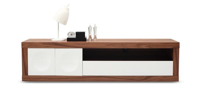Peter Modern Walnut TV Stand