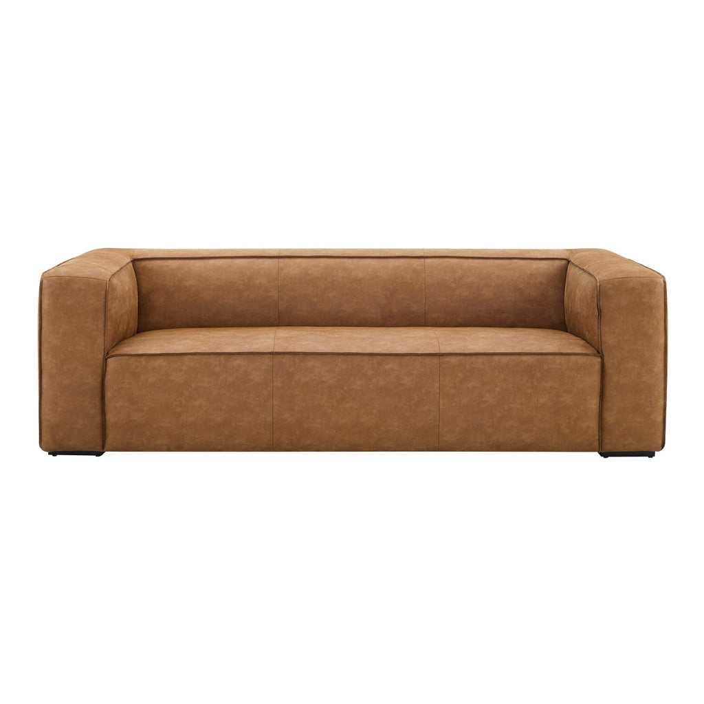 Arizona Low Profile Brown Sofa