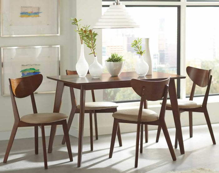 Kersey Mid-Century Inspired Dining Set