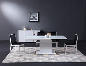 Starla Modern White Dining Room Collection