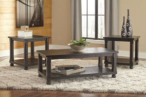 Malia Distressed 3 Piece Occasional Table Set