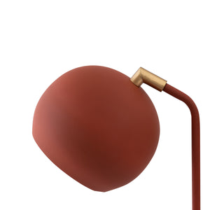 Red Terracotta Table Lamp