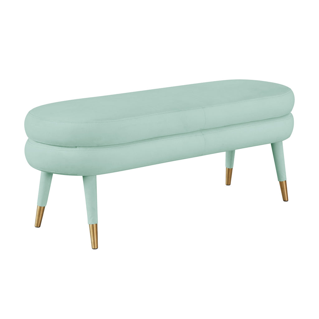Betsy Velvet Bench in 3 Color Options