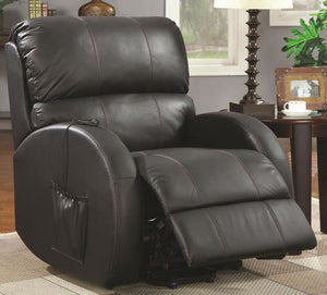 Top Grain Leather Power Lift Recliner