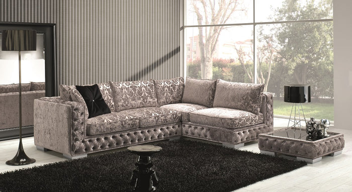 Vanny Tufted Fabric Sectional