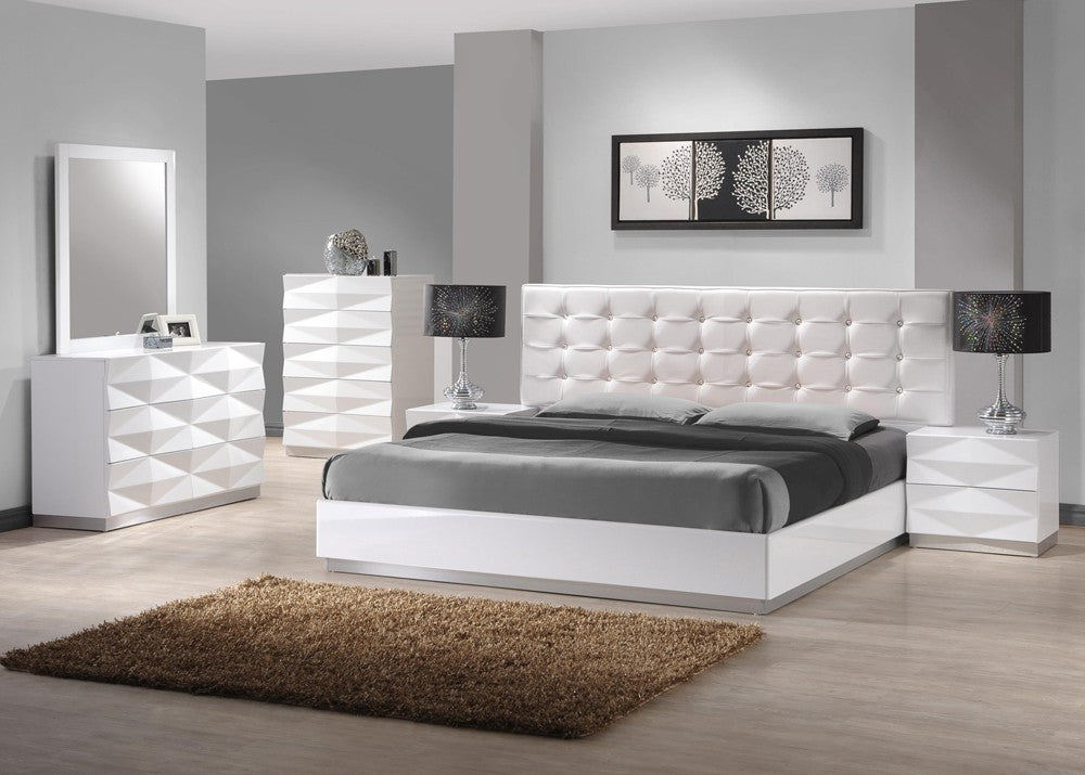 Rona White Bedroom Collection