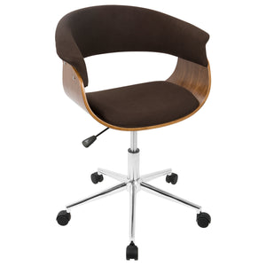 Miles Office Chair in Brown or Grey