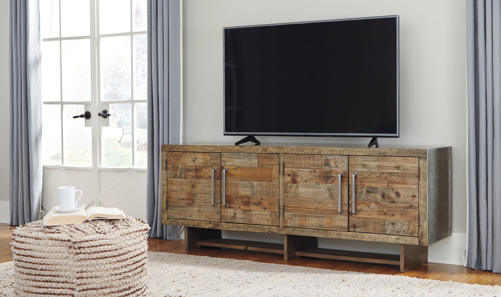 "Max Rustic 72"" Media Stand"