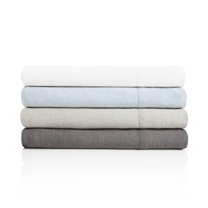 French Linen Sheets Set in 4 Color Options