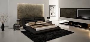 Waverly Modern Platform Bed in 2 Color Options