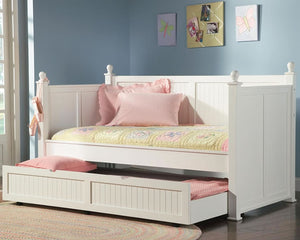 White Twin Trundle Daybed