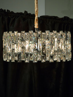 Baquette Chandelier in 3 Sizes