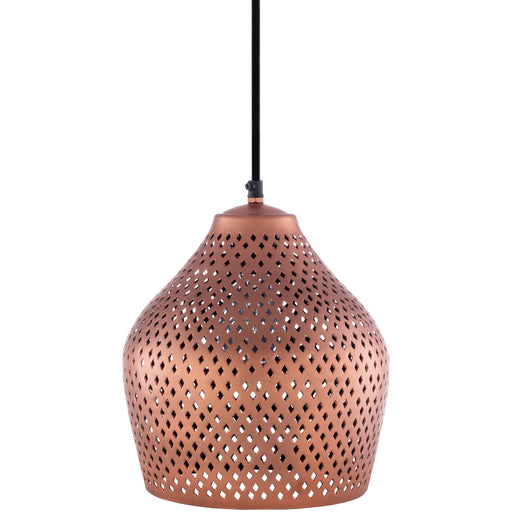 Delores Pendant in Copper or Black