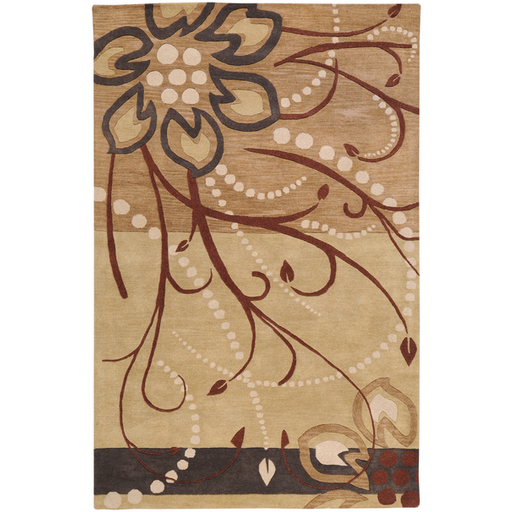 Enid Wool Area Rug in 3 Colors & 22 Sizes