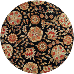 Ernie Round Area Rug in 5 Colors & 4 Sizes