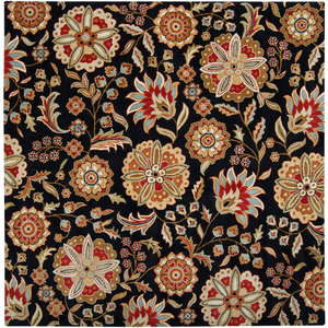 Ernie Square Area Rug in 5 Colors & 4 Sizes