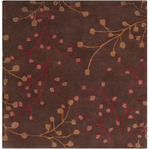 Enrique Square Area Rug in 9 Colors & 4 Sizes