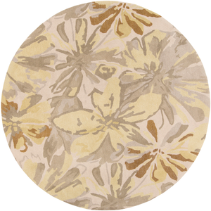 Harley Round Area Rug in 6 Colors & 4 Sizes