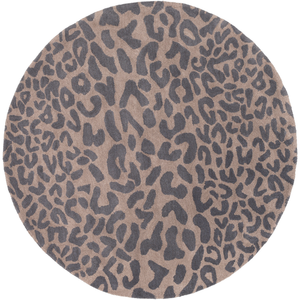 Hannah Round Area Rug in 4 Colors & 4 Sizes