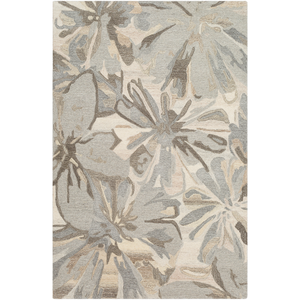 Harley Square Area Rug in 5 Colors & 4 Sizes