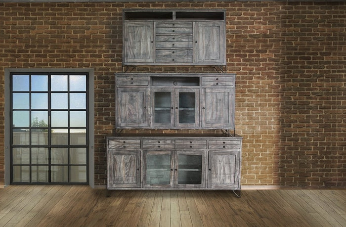 Mara Rustic Grey Media Stand in 3 Sizes