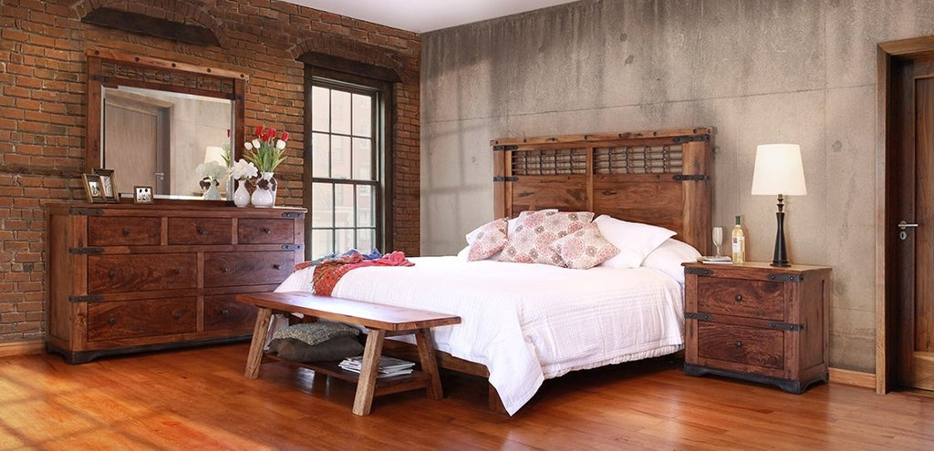 Paro Solid Wood Platform Bedroom Collection