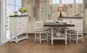 Stanley Dual Tone Counter Height Dining Collection
