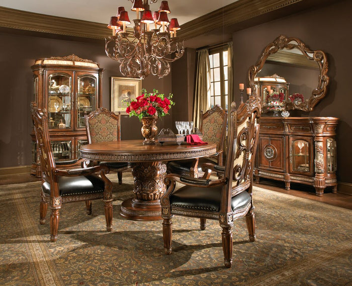 Villa Valencia Round Dining Room Collection