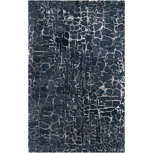 Ben Navy Area Rug in 7 Sizes