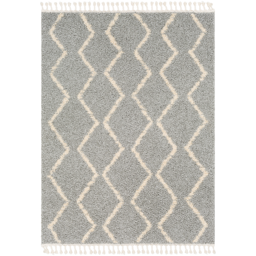 Velma Shag Area Rug in 3 Colors & 6 Sizes