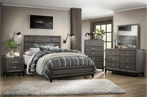 Davin Rustic Bedroom Collection