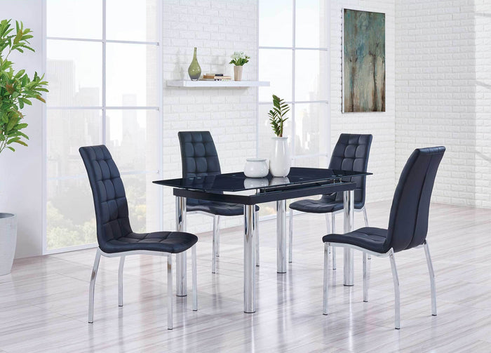 Bennett Black Extendable Dining Room Collection