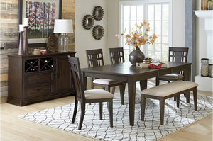 Maika Dining Room Collection with Optional Bench
