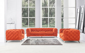 Delfina Tufted Living Room Collection in 6 Color Options