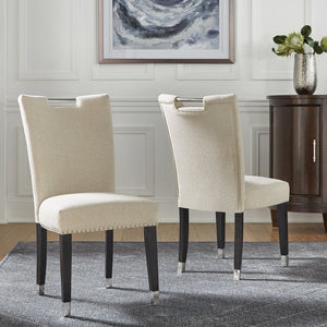 Beige Parson Dining Arm or Side Chair