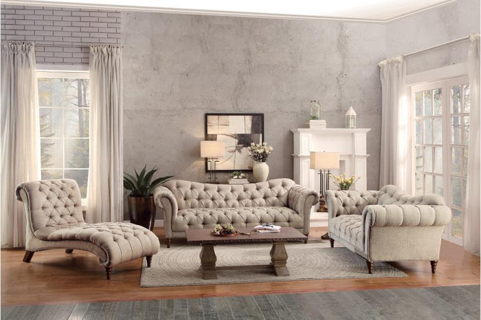 Stockton Traditional Tufted Living Room Collection