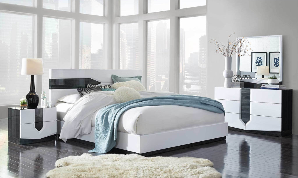 Edison Dual Tone Contemporary Bedroom Collection