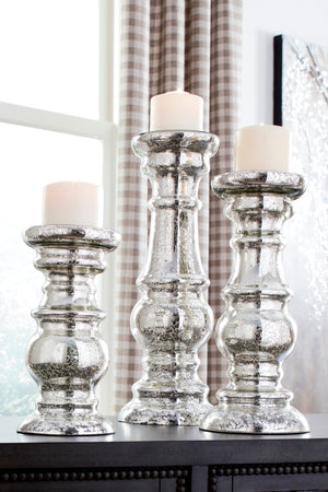 Rosie 3 Piece Candle Holder Set